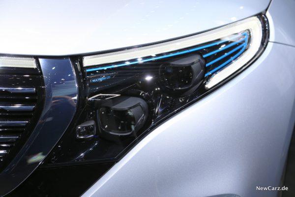 Mercedes EQC Scheinwerfer