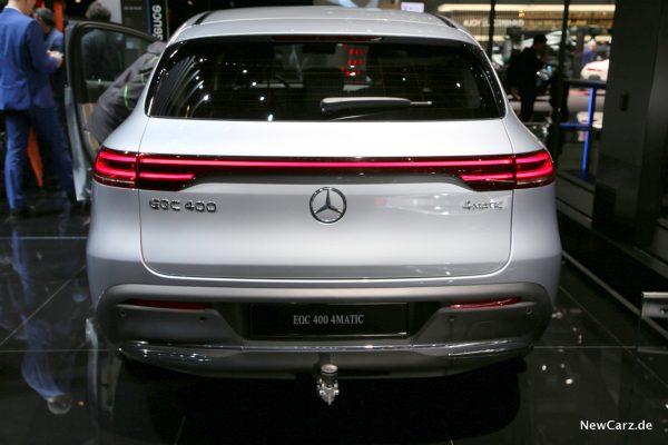 Mercedes EQC Heck
