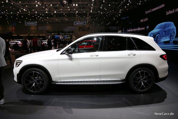 Mercedes GLC 2020 Seitenansicht