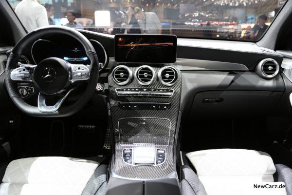 Mercedes GLC 2020 Instrumententafel