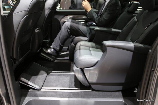 Mercedes-Benz V-Klasse 2019 2. Sitzreihe