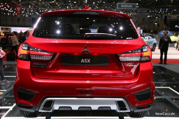 Mitsubishi ASX Heck