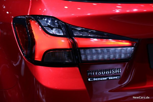 Mitsubishi ASX Heckleuchte