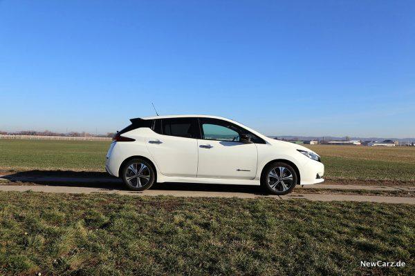 Nissan Leaf ZE1 Seite