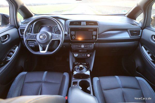 Nissan Leaf ZE1 Interieur
