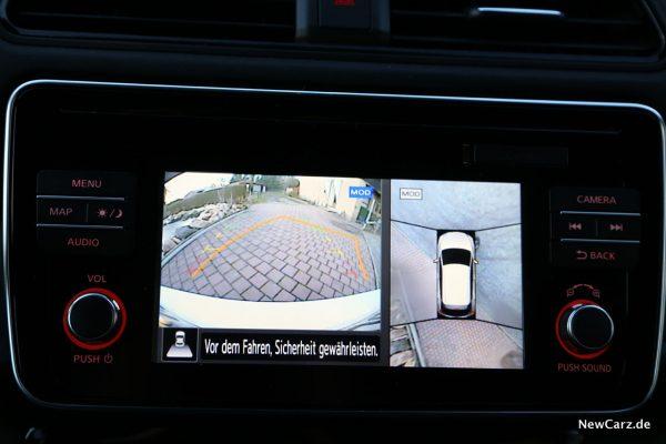Nissan Leaf ZE1 360°-Kamera