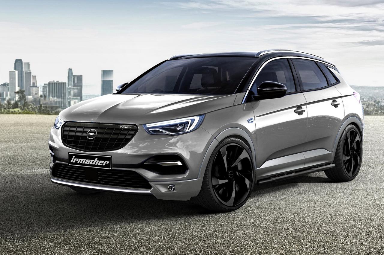 Opel Grandland X Black & White