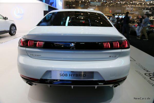 Peugeot 508 Hybrid Heck