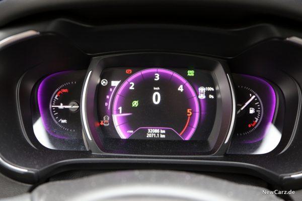 Renault Koleos Dauertest km-Stand erste Inspektion