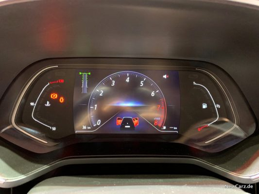 Ranult Clio MK V Cockpit