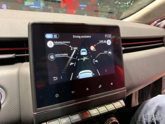 Ranult Clio MK V Bildschirm