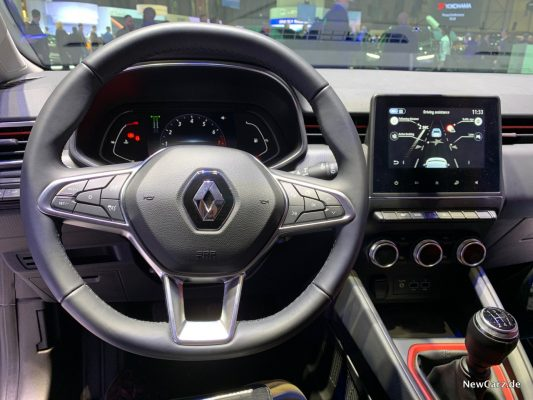 Ranult Clio MK V Armaturenbereich