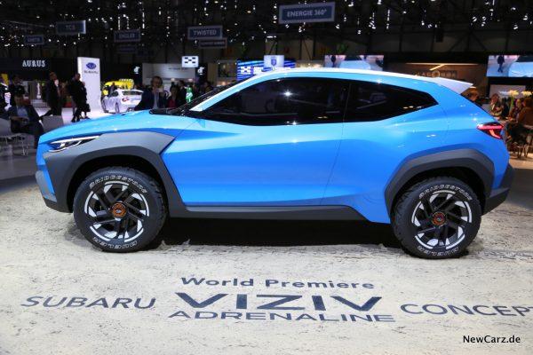 Subaru VIZIV Concept Seite