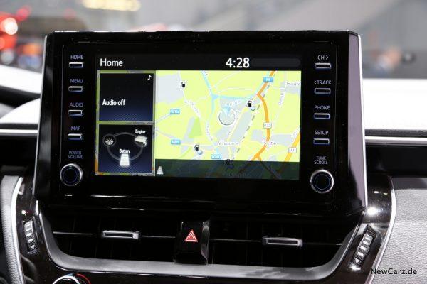 Toyota Corolla Zentralbildschirm