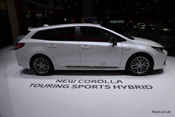 Toyota Corolla Touring Sports Seite