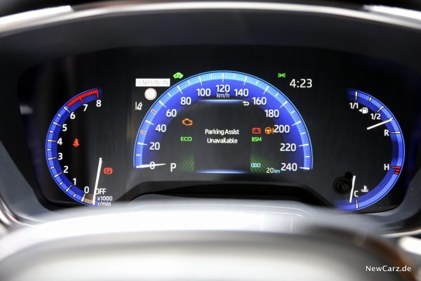 Toyota Corolla Infodisplay
