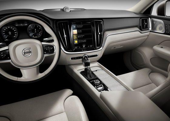 Interieur des Volvo S60