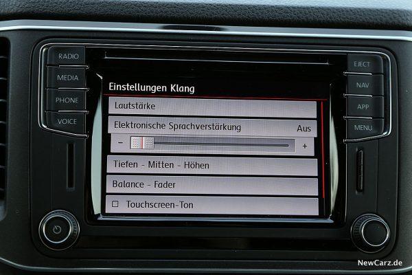 VW Amarok Sprachverstärkung