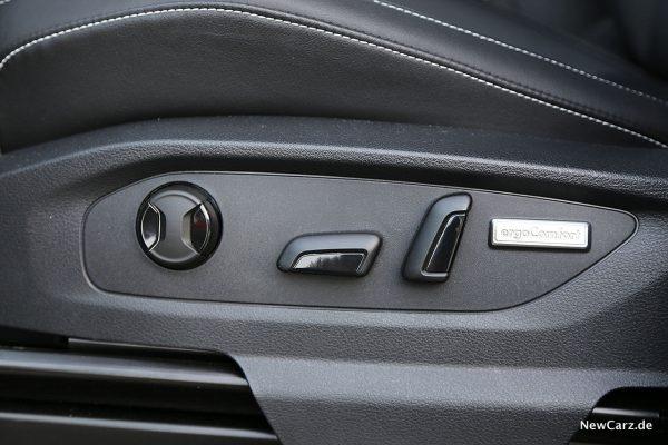 VW Amarok Sitzverstellung