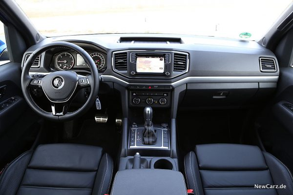 VW Amarok Instrumententafel
