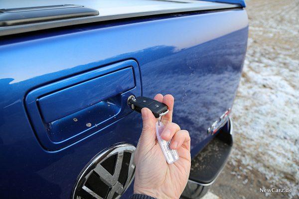 VW Amarok Heckschloss