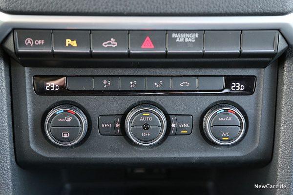 VW Amarok Klima