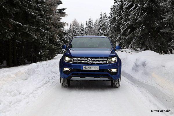 VW Amarok Front