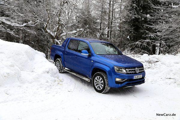 VW Amarok im Schneegelände