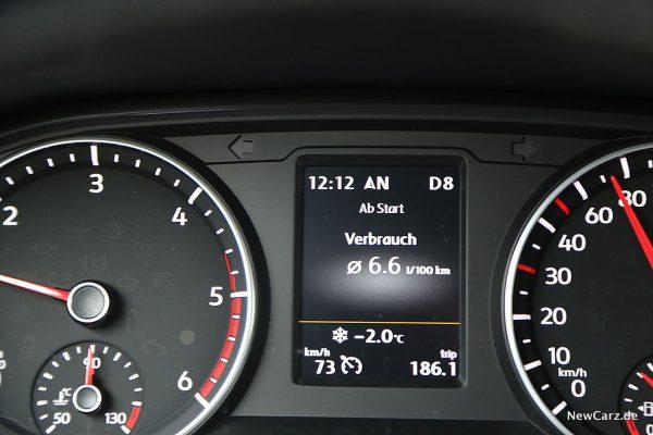 VW Amarok Minimalverbrauch