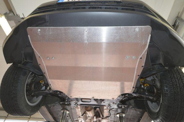 VW Caddy Seikel Umbau Motorschutz