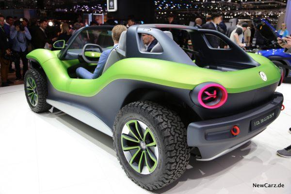 VW ID. Buggy schräg hinten links