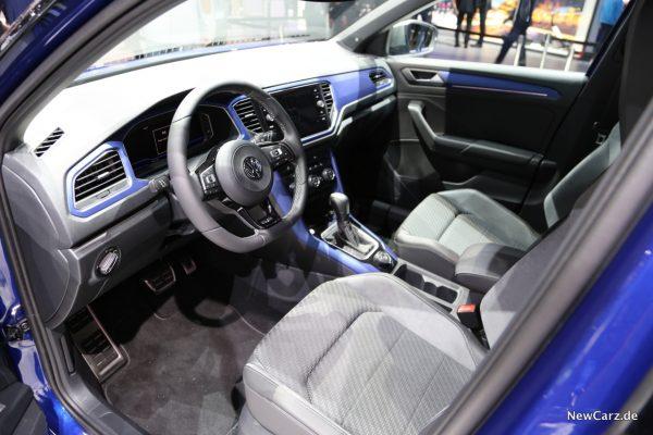 VW T-Roc R Innenraum vorne