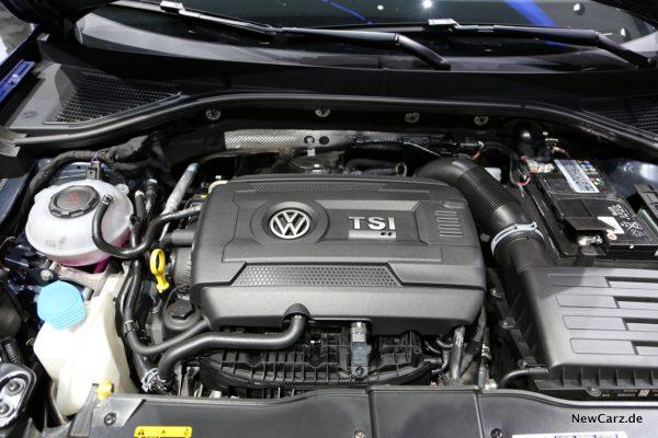 VW T-Roc R Motor