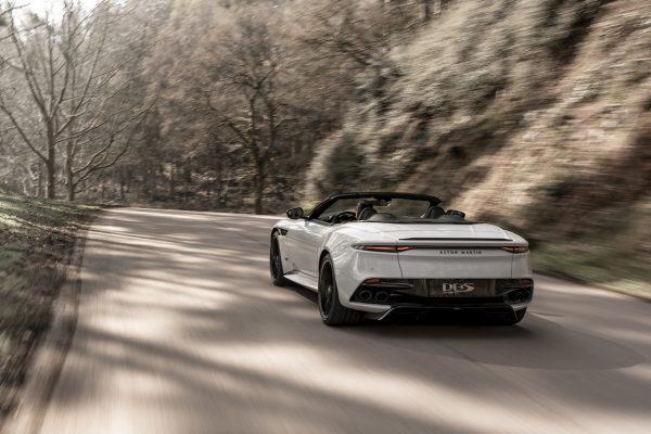 Aston Martin DBS Superleggera Volante Heck