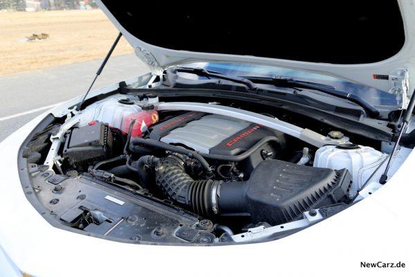 Chevrolet Camaro Cabriolet Motor Verbrauch