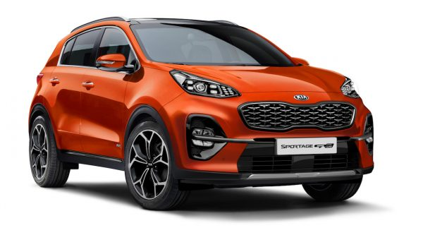 Kia Sportage Fusion Orange Metallic