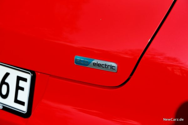 Kia e-Soul Eco Electric Plakette