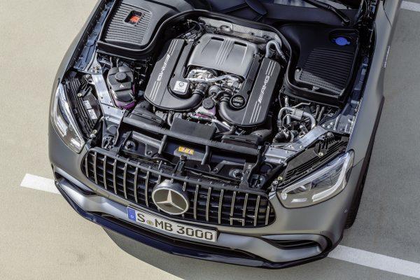 Mercedes-AMG GLC 63 S 4MATIC+ V8 Motor