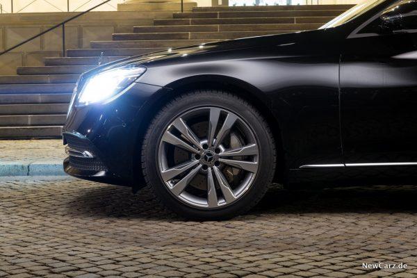 Mercedes-Benz S 560 L 4Matic Felgen Seite
