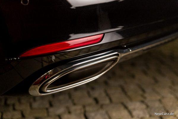 Mercedes-Benz S 560 L 4Matic Abgasendrohre