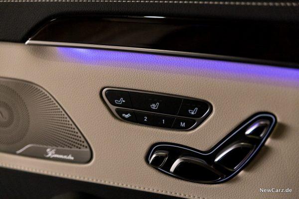 Mercedes-Benz S 560 L 4Matic Fond Sitze