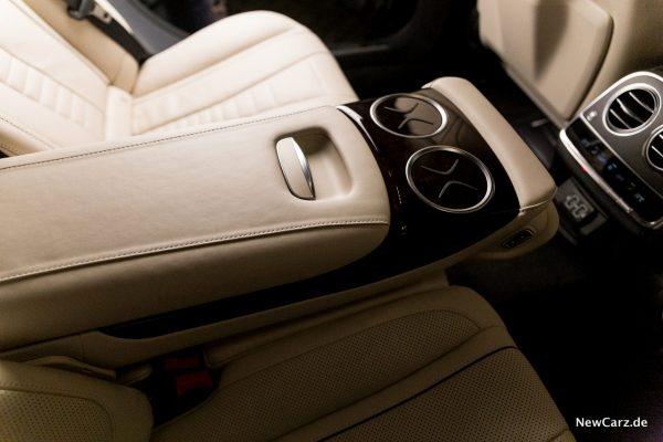 Mercedes-Benz S 560 L 4Matic Mittelarmlehne hinten