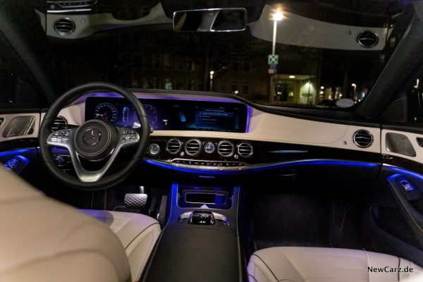Mercedes-Benz S 560 L 4Matic Interieur