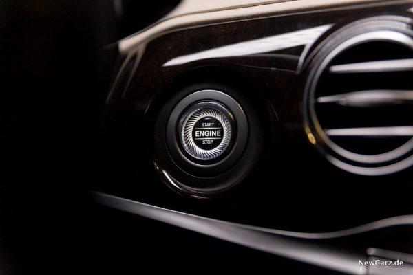 Mercedes-Benz S 560 L 4Matic Startknopf