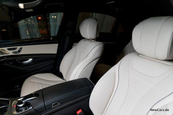 Mercedes-Benz S 560 L 4Matic Sitze Porzellan