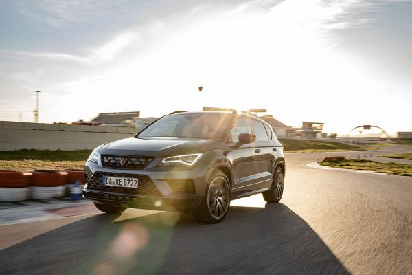 CUPRA Ateca on Track