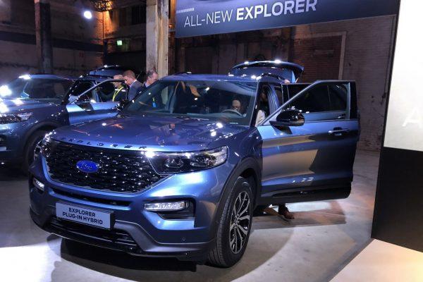 Ford Explorer bei der Premiere 2019