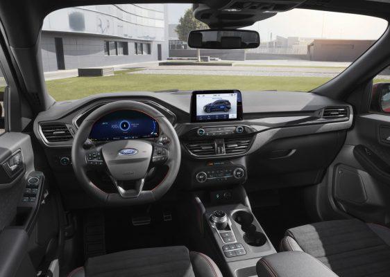 Interieur des neuen Ford Kuga