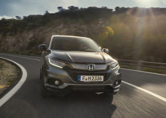Frontansicht des Honda HR-V Sport
