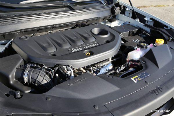 Jeep Cherokee Motorraum